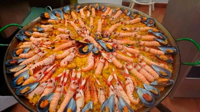 paella-de-marisco-restaurante-en-Huelva-el-Rocio