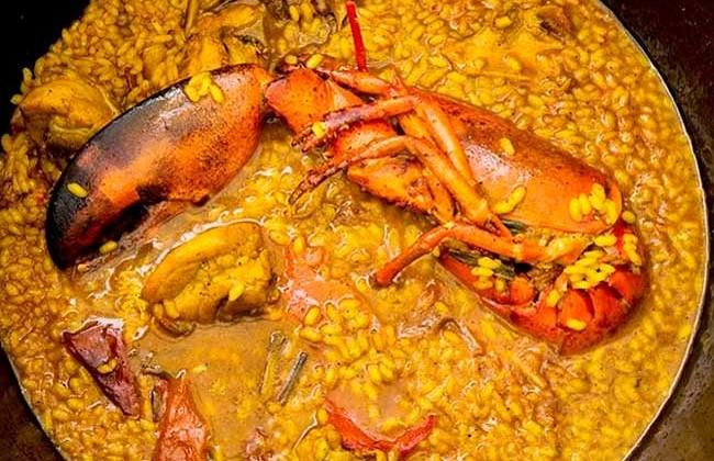 arroz-caldoso-con-bogavante-la-Falua-Benidorm-Alicante