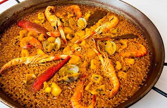 paella-de-marisco-Alicante-Benidorm