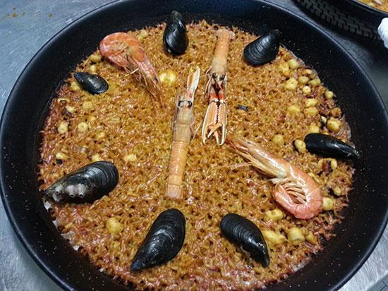 paella-de-marisco-la-valenciana